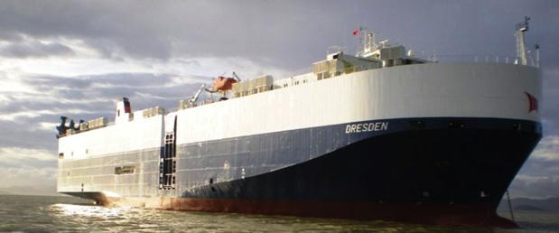 Roro vessel M/V Dresden